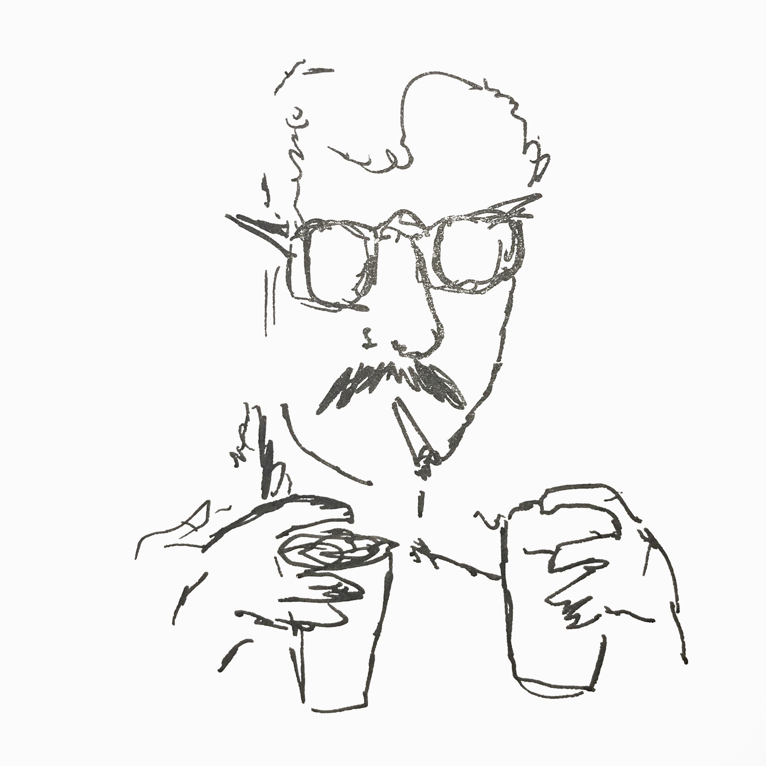This is Tadeu. Writer, director, nice guy.
