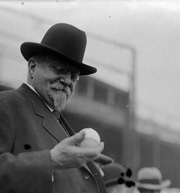 Taft's policies leaned right, and he pitched right-handed too.