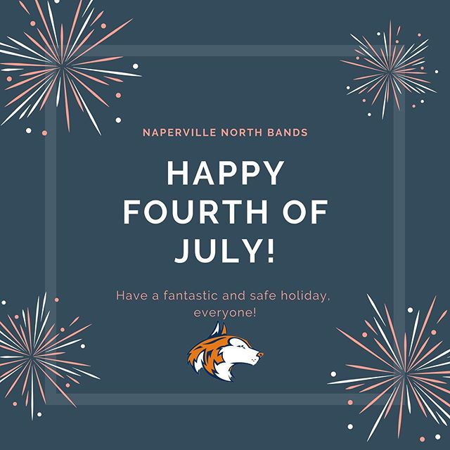 Have a wonderful and safe holiday, everyone! Happy 4th of July!