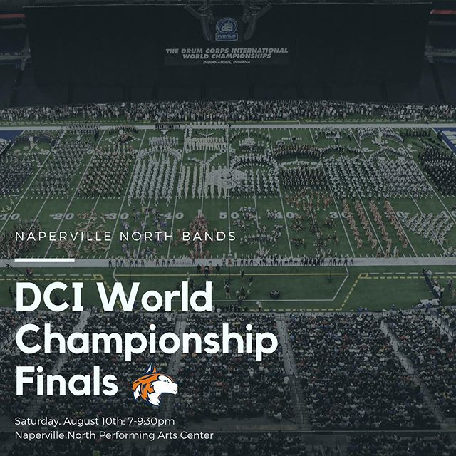Please join us this Saturday, August 10th from 7-9:30 pm for a viewing party to watch the 2019 DCI Finals; hosted by the Marching Huskies! RSVP with the link in the bio by Friday.