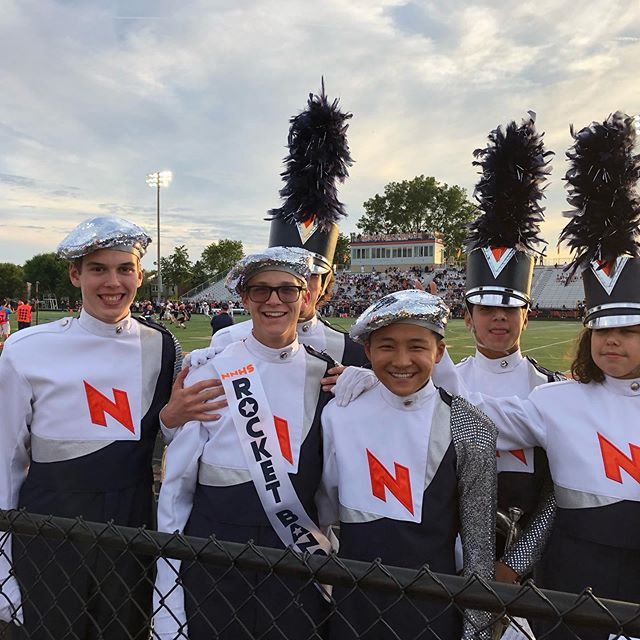 What a way to kick off the season, Marching Huskies. Happy Senior Night!