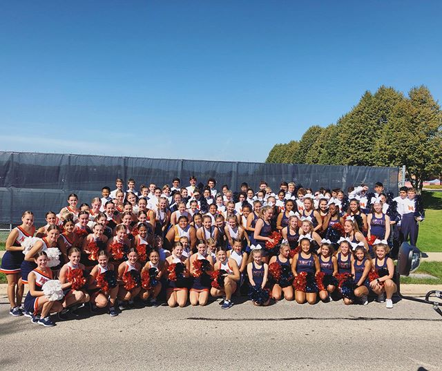 Happy Labor Day, everyone! Come cheer on the Naperville North Marching Huskies, Dance, and Cheer Teams along our parade route this morning! #letahuskieleadtheway