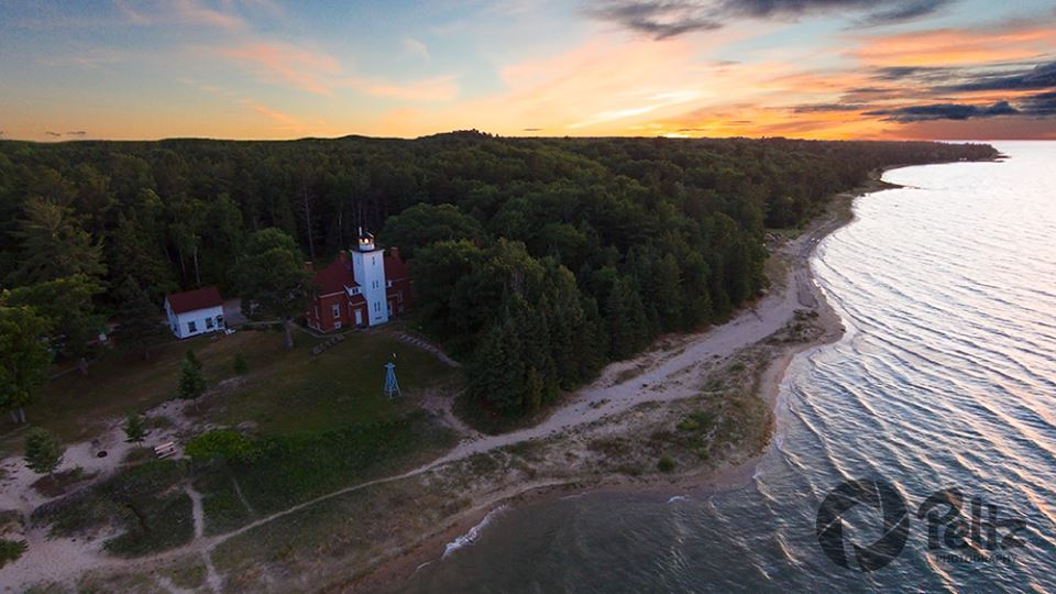 40 Mile Point Lighthouse - Photo by Peltz Photography