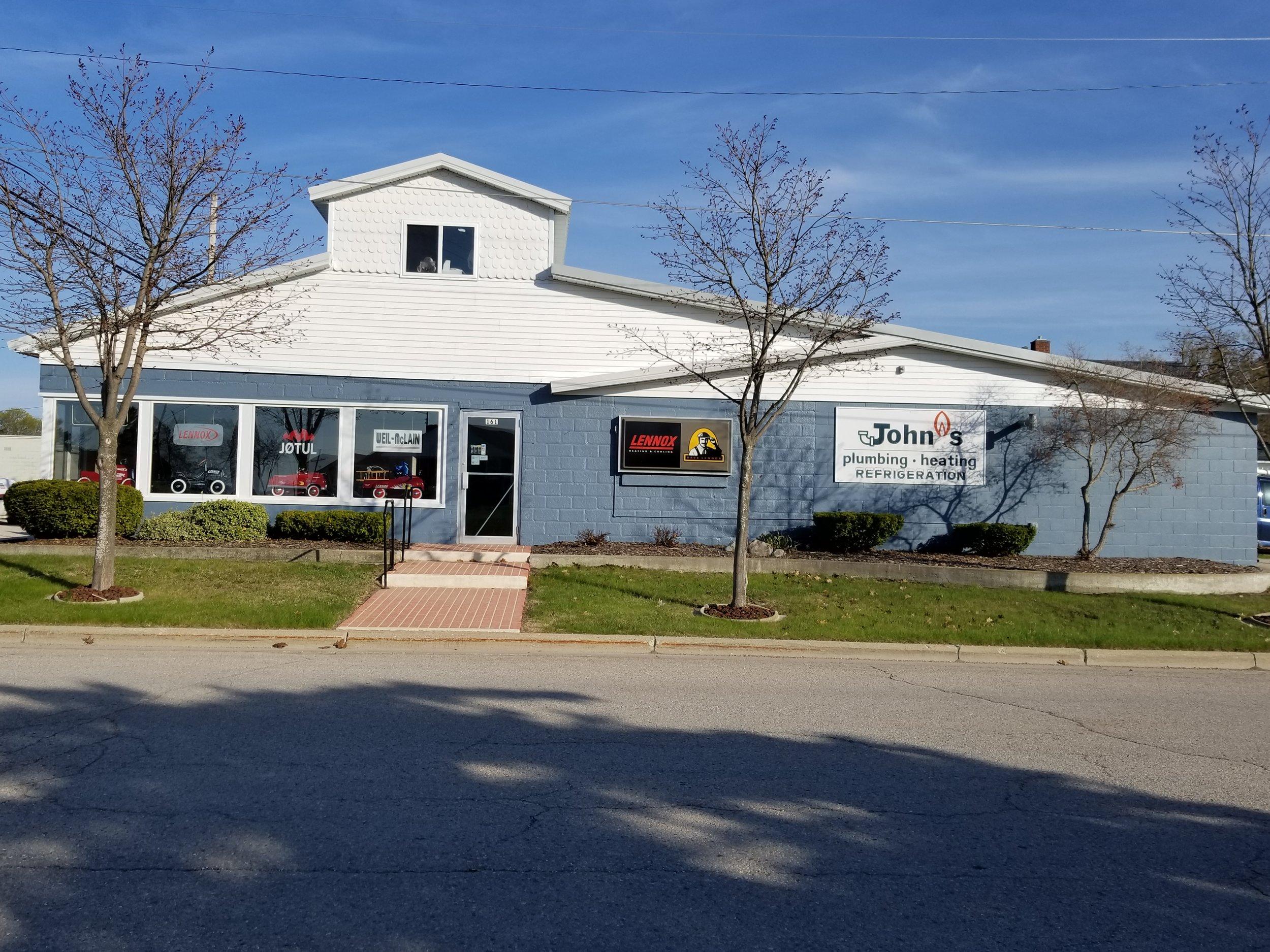 John's Plumbing & Heating, Inc. - 161 West Friedrich StreetRogers City, MI 49779(989) 734-4971