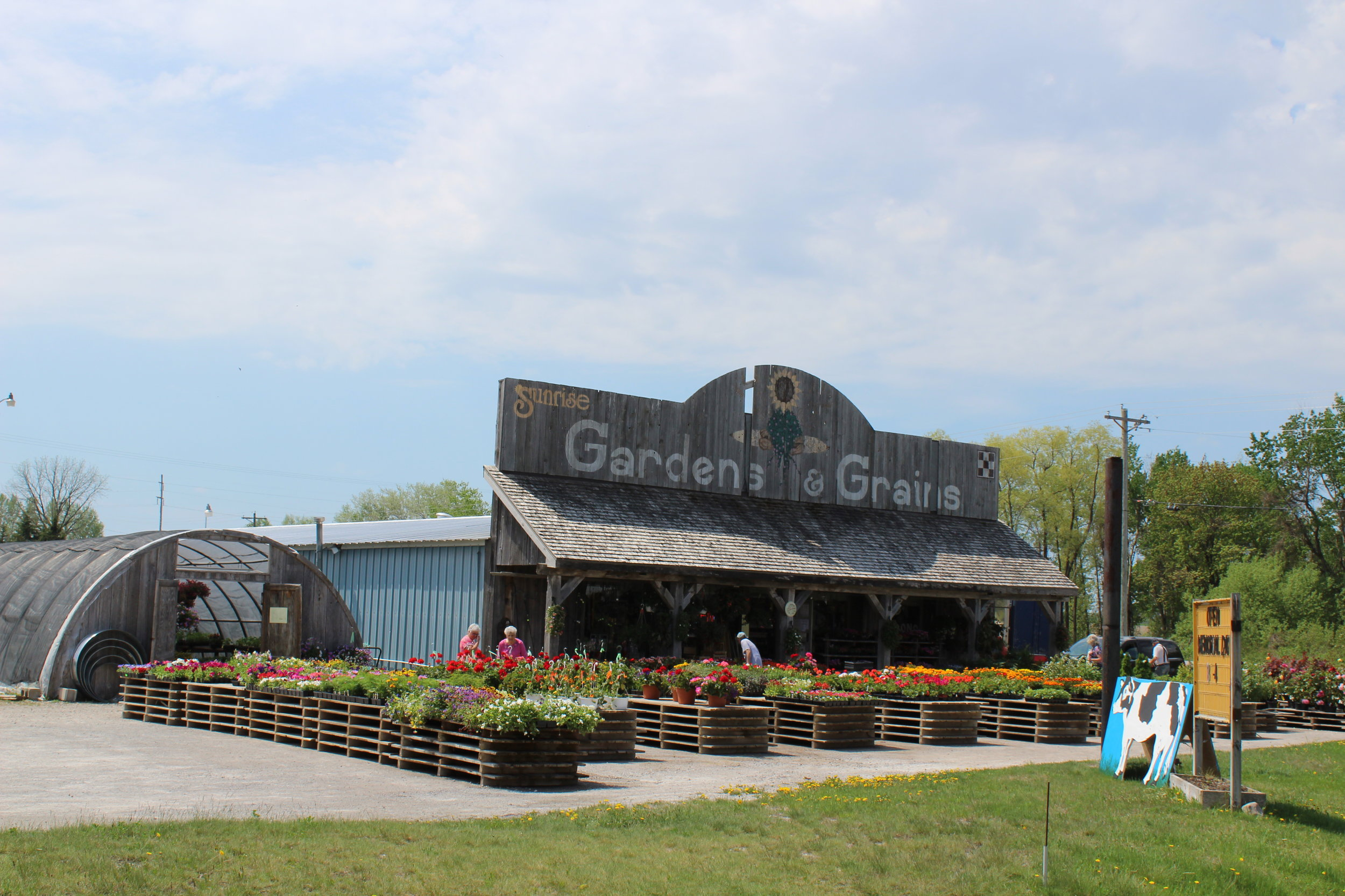 Sunrise Gardens & Grains Inc. - 3182 US 23 SouthRogers City, MI 49779(989) 734-2083