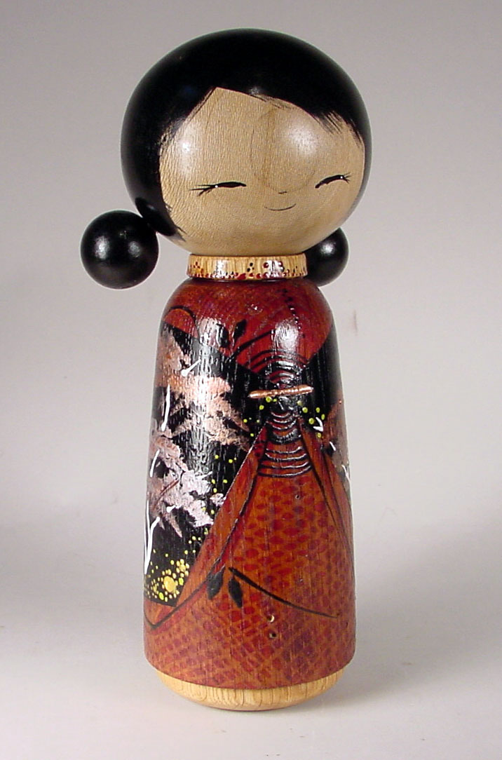 Kokeshi Doll by Jacob & Lisa Hodsdon