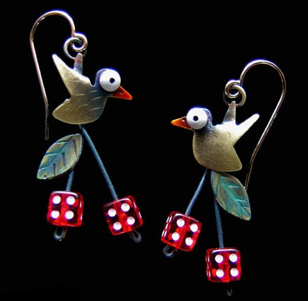 Earrings by Chickenscratch