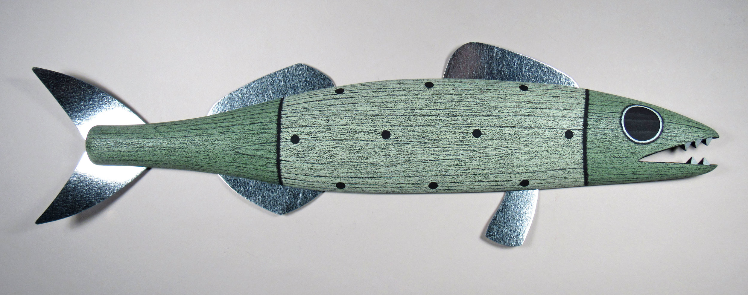 Carved Fish by Paul Sumner