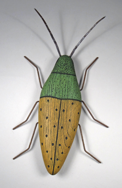 Beetle Sculpture by Paul Sumner