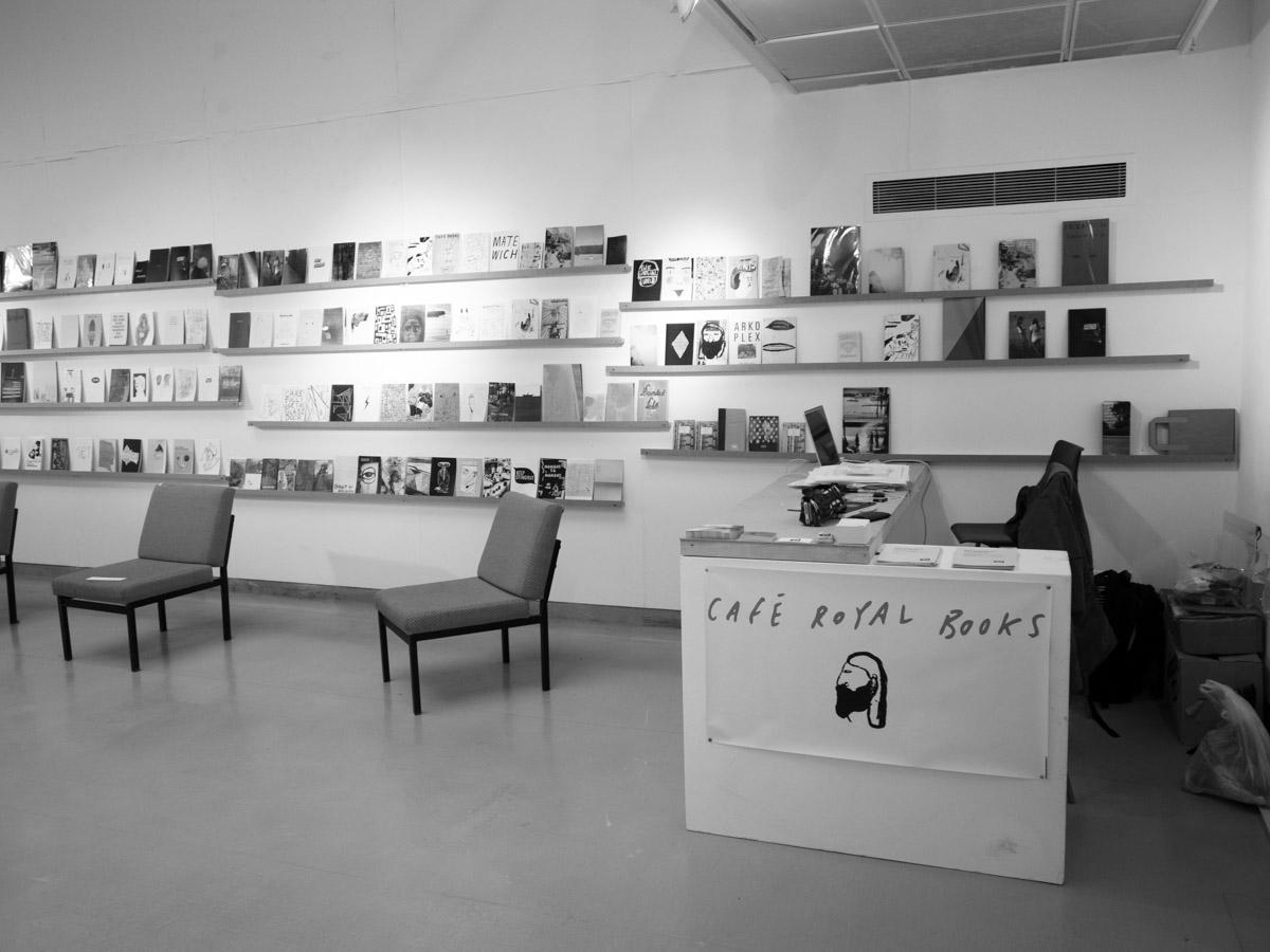 Café Royal Books temporary Library 2010