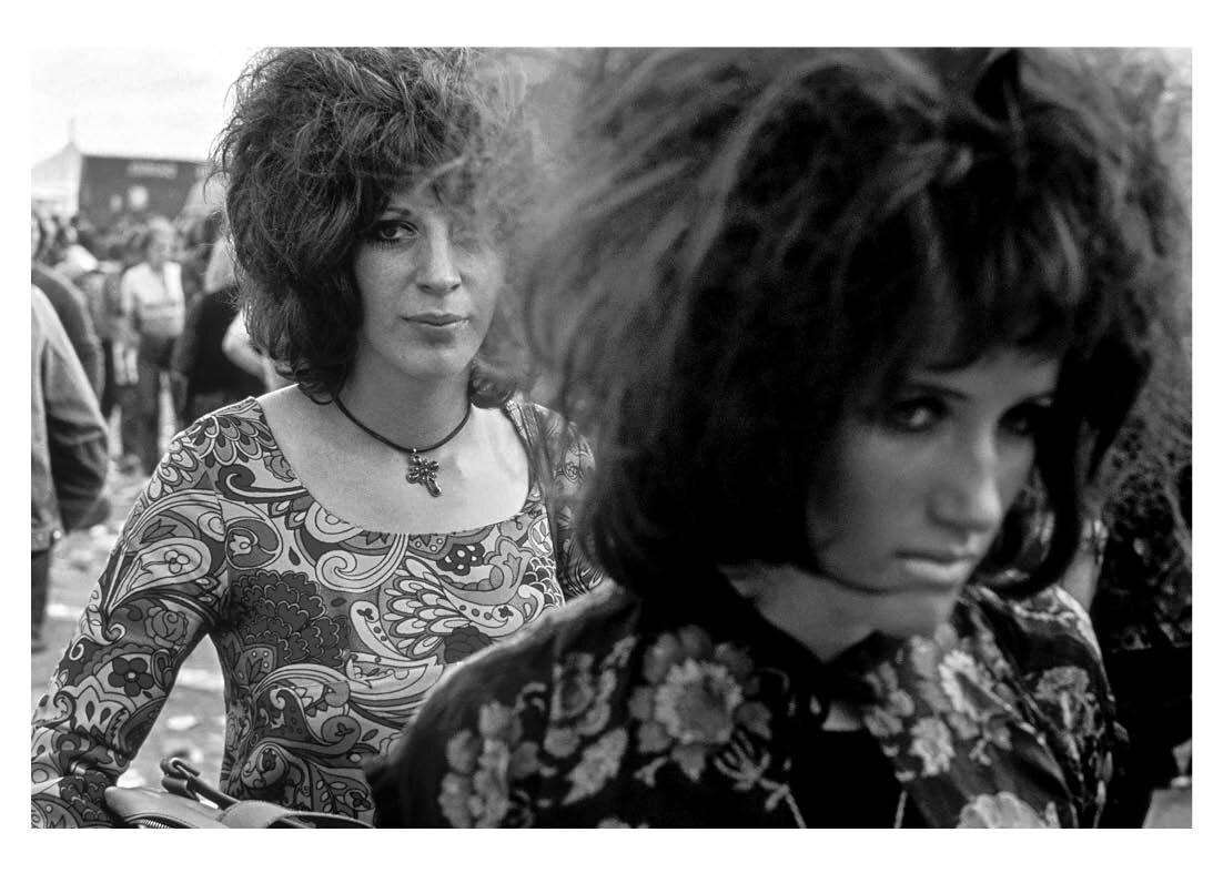 Isle of Wight Festival 1969 – 1970 David Hurn