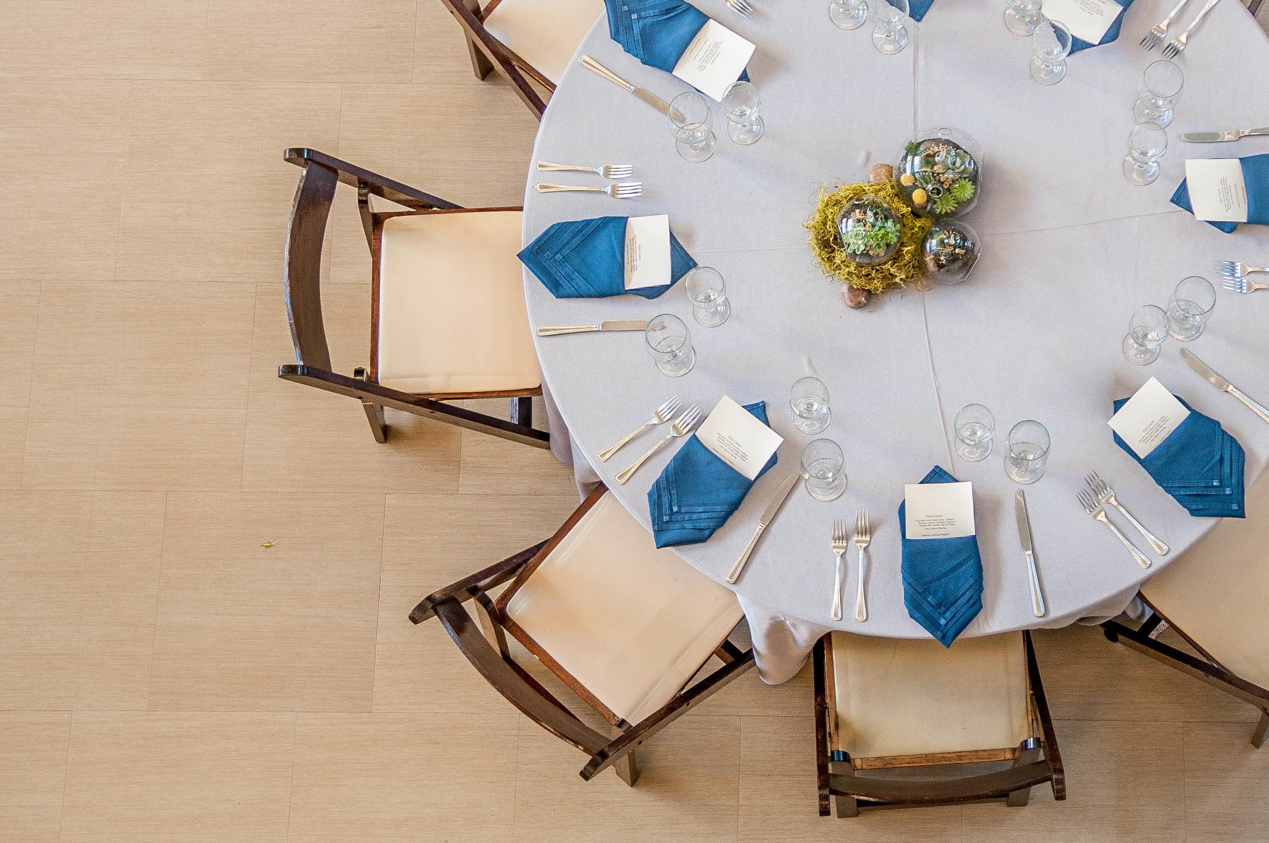 Scott & White table settings