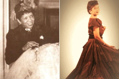 Photos of gown designer Ann Lowe from her biography published in the New York Post