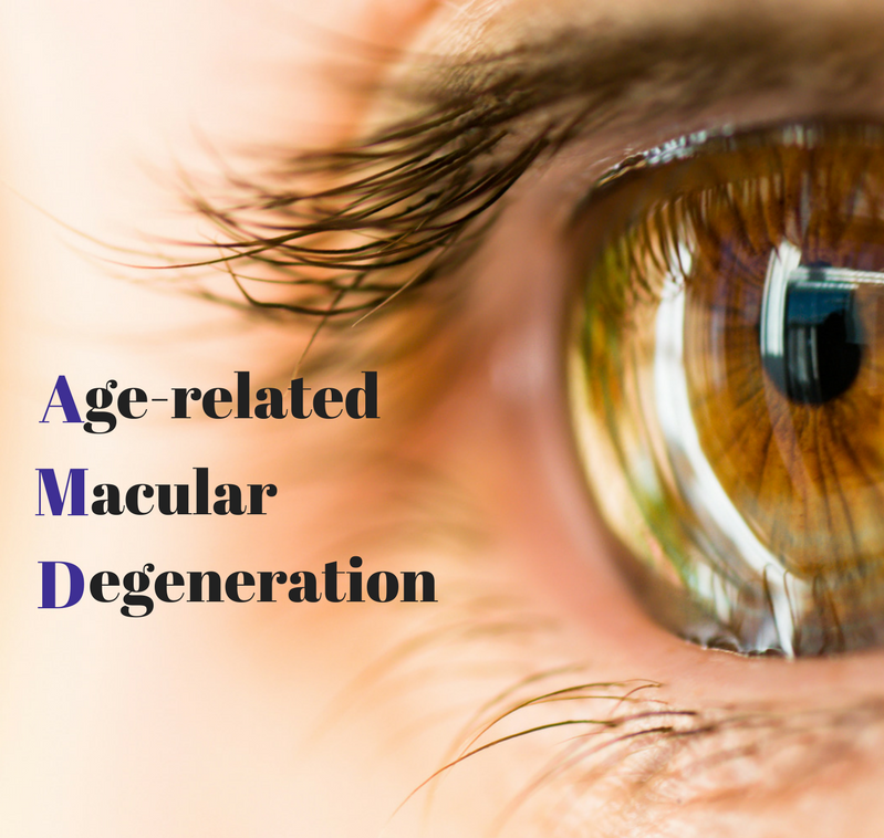 February is Age-Related Macular Degeneration (AMD) Awareness month and at  Optikk 30A  we are dedicated to raising awareness about important eye health topics.    AMD is the leading cause of blindness in people over 50 affecting more than 10 million Americans. Macular Degeneration is a deterioration of the macula, which is the part of your retina responsible for your central vision and maintaining sharp 20/20 vision.    There are two forms of age-related macular degeneration. The most common form is  Dry  (atrophic) macular degeneration and  Wet  (exudative) macular degeneration. Symptoms may not be present in the early stages and can range from mild to very severe.    Symptoms of AMD include:  Straight lines appear wavy  Difficulty seeing at a distance  Decreased ability to distinguish colors  Inability to see details, such as faces or words in a book  Dark or empty spots block the center of your vision      Unfortunately, some risk factors associated with AMD are out of your control. These risk factors include age, gender and genetics. Signs of this ocular disease are present in about 14% of people under the age 64, 20% ages 65 - 75 and up to 37% over 75 years of age. AMD is also more common in women.   What can you do to help prevent AMD? Kick the nicotine habit, smoking significantly increases your risk of AMD. Manage your high blood pressure. Wear sunglasses to protect your retina from harmful UV rays. Eat a diet rich in leafy greens which contain the carotenoids lutein and zeaxanthin. Stay active with regular exercise. Talk to your optometrist about an appropriate supplement.    While there are treatments to slow the progression of the wet form of macular degeneration, there are no treatments for the dry form and no treatments to reverse the damage already caused by AMD. As the saying goes, prevention is the best medicine.    Call your local optometrist or  contact us  to schedule a comprehensive eye exam. Keeping regularly scheduled eye exams will allow early