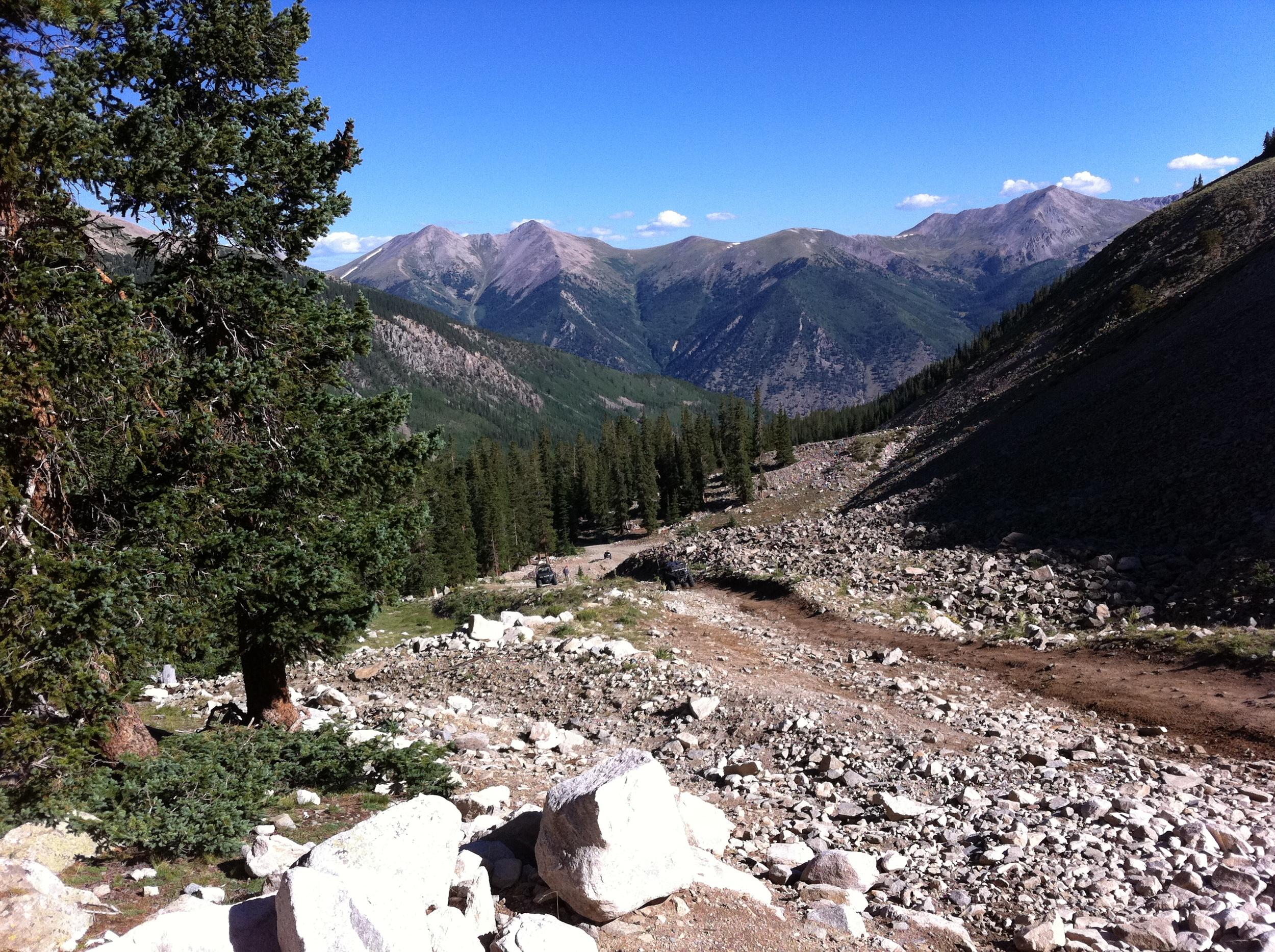 Trail to Mt Antero