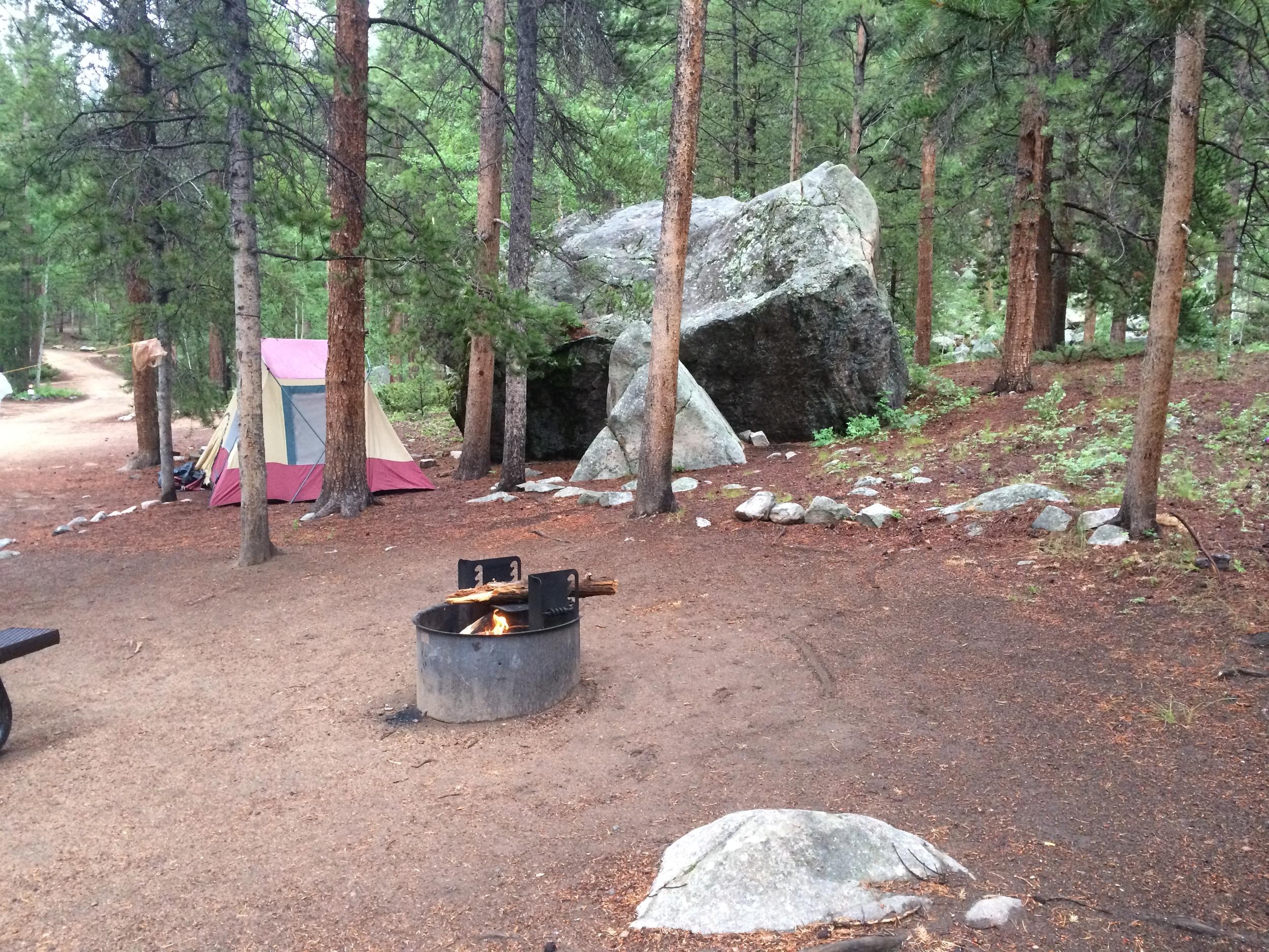 Campsite #10 Lodgepole Campground - Gunnison County