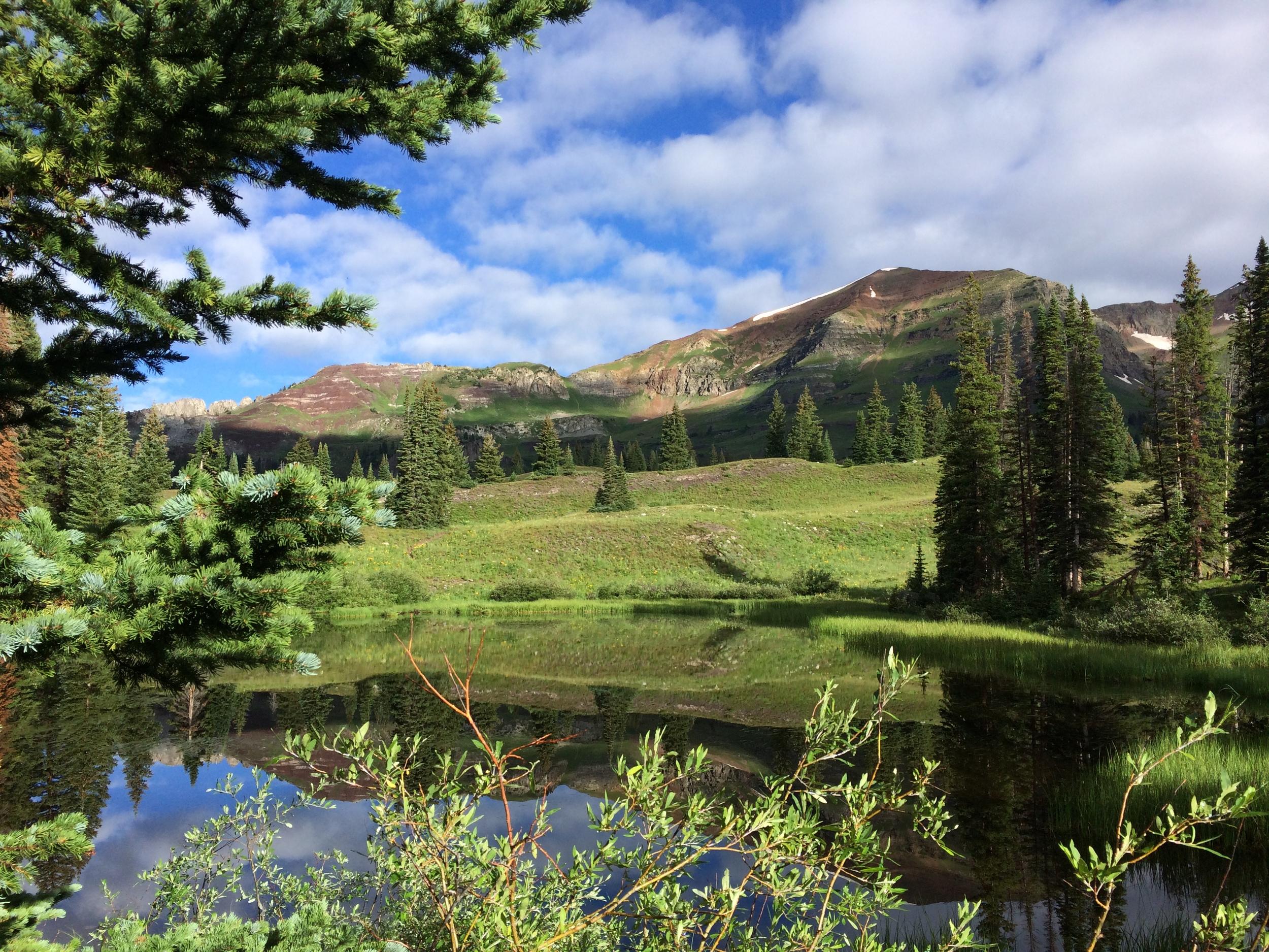 Campsite #12 Lake Irwin Colorado