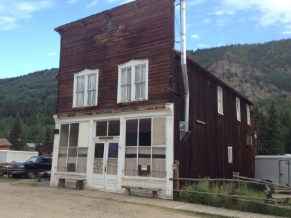 St Elmo Mercantile Building - Colorado