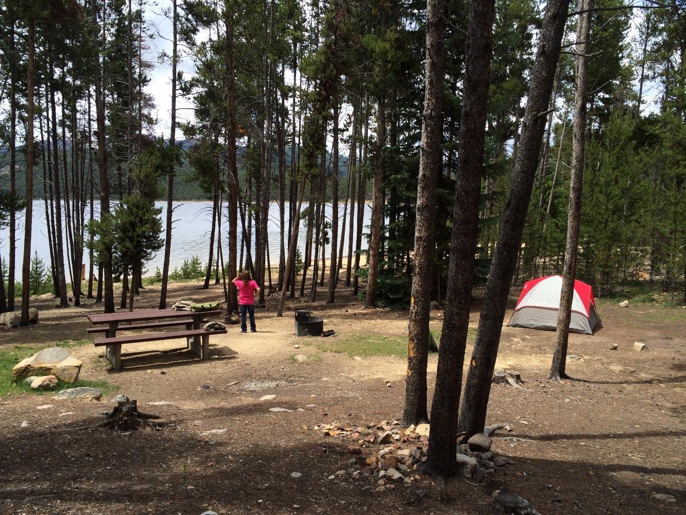 Belle of Colorado - Campsite #2