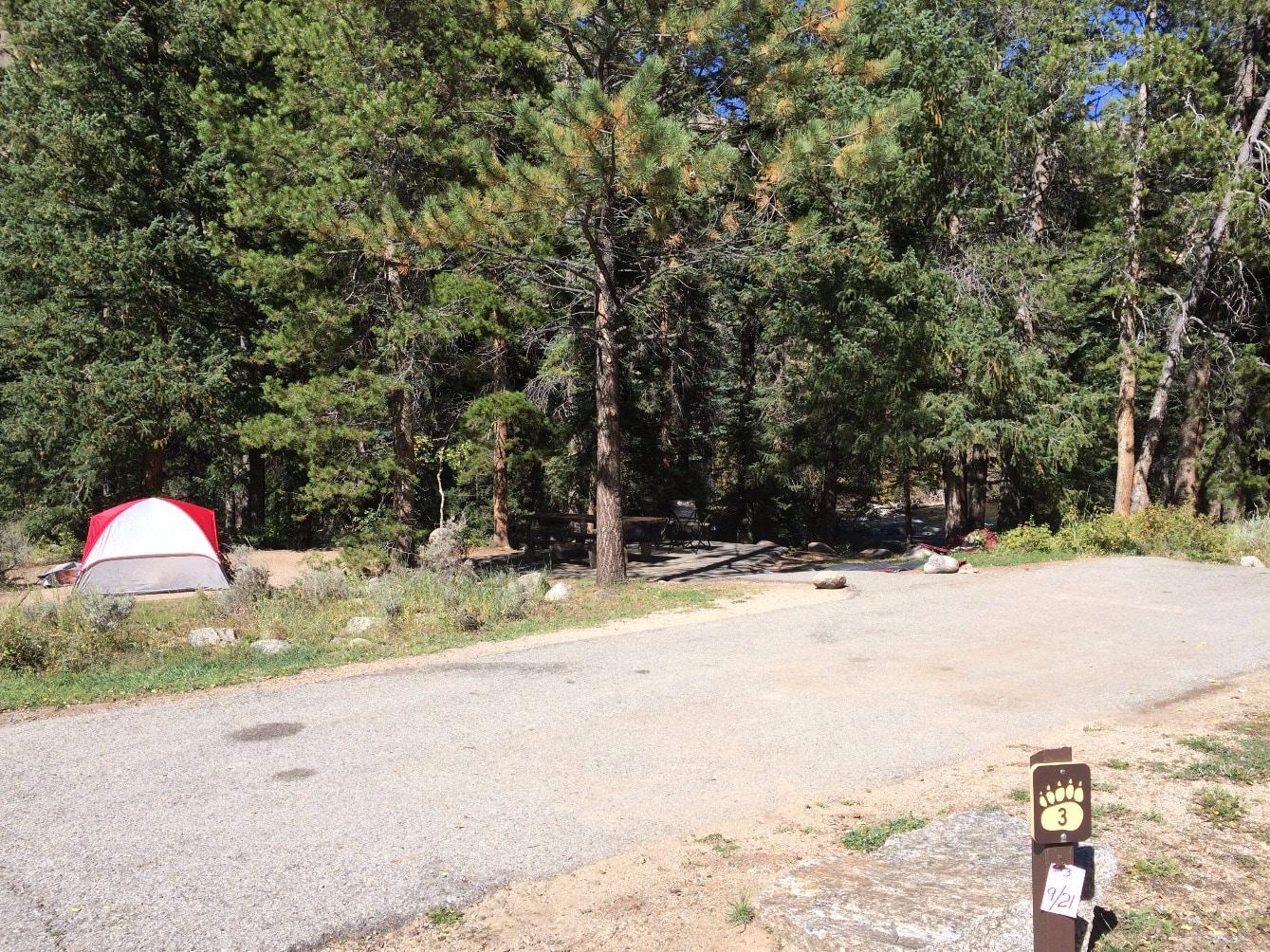 Campsite #3 - Rosy Lane Campground