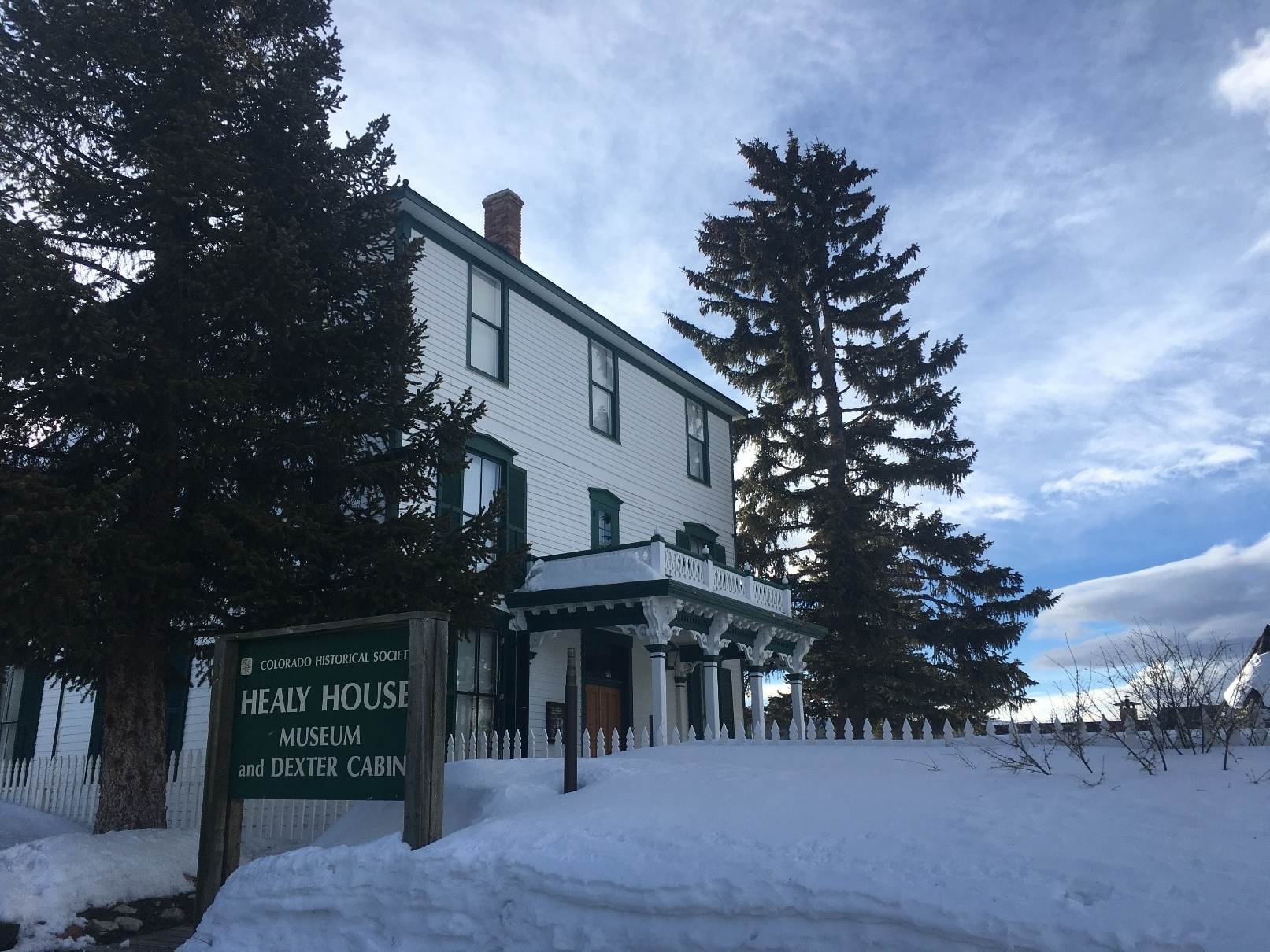 Healy House Museum and Dexter Cabin - Leadville Colorado