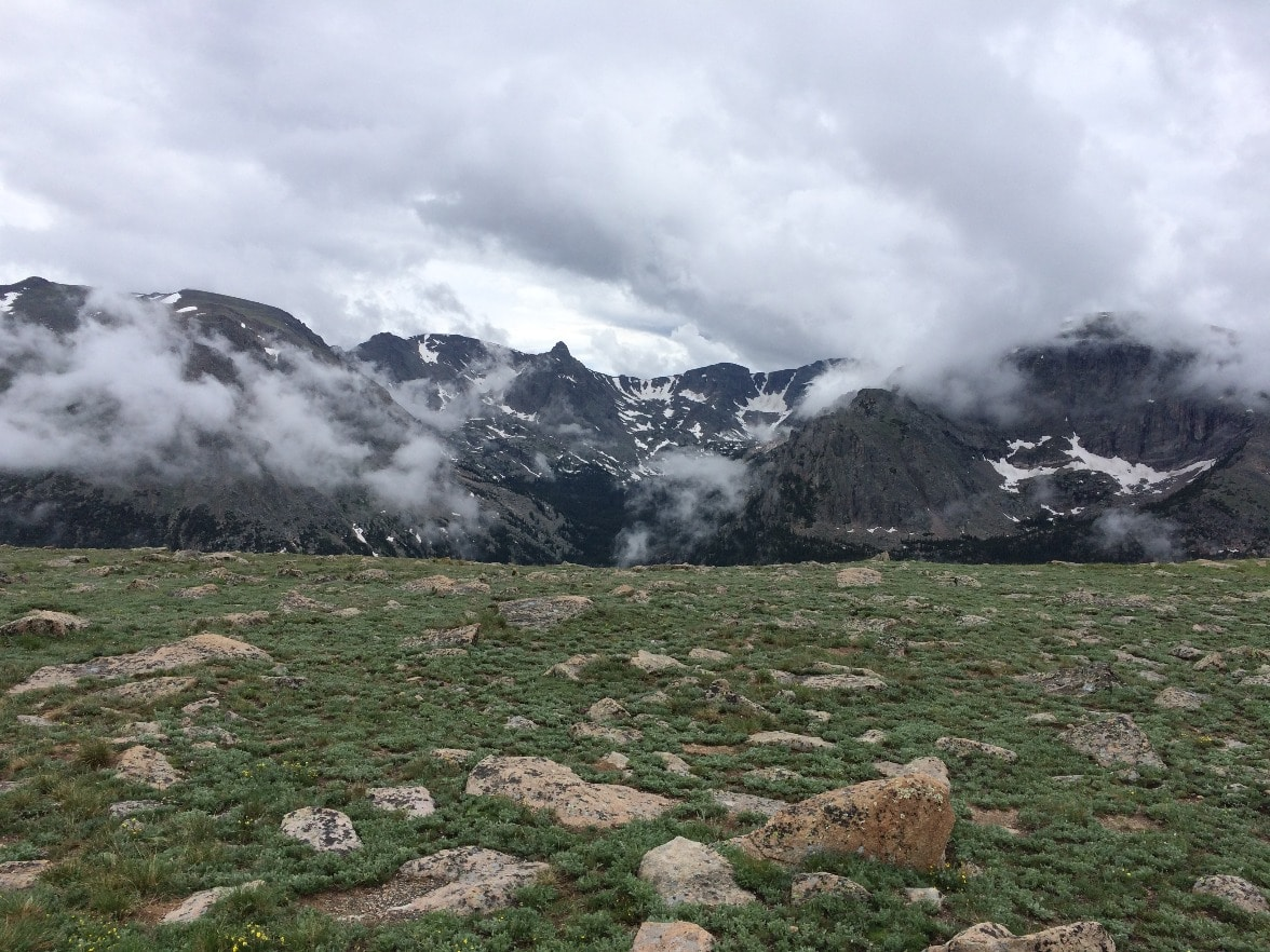 Rocky Mountain National Park in July