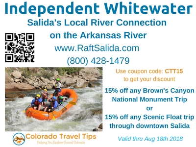 Salida colorado whitewater rafting discount