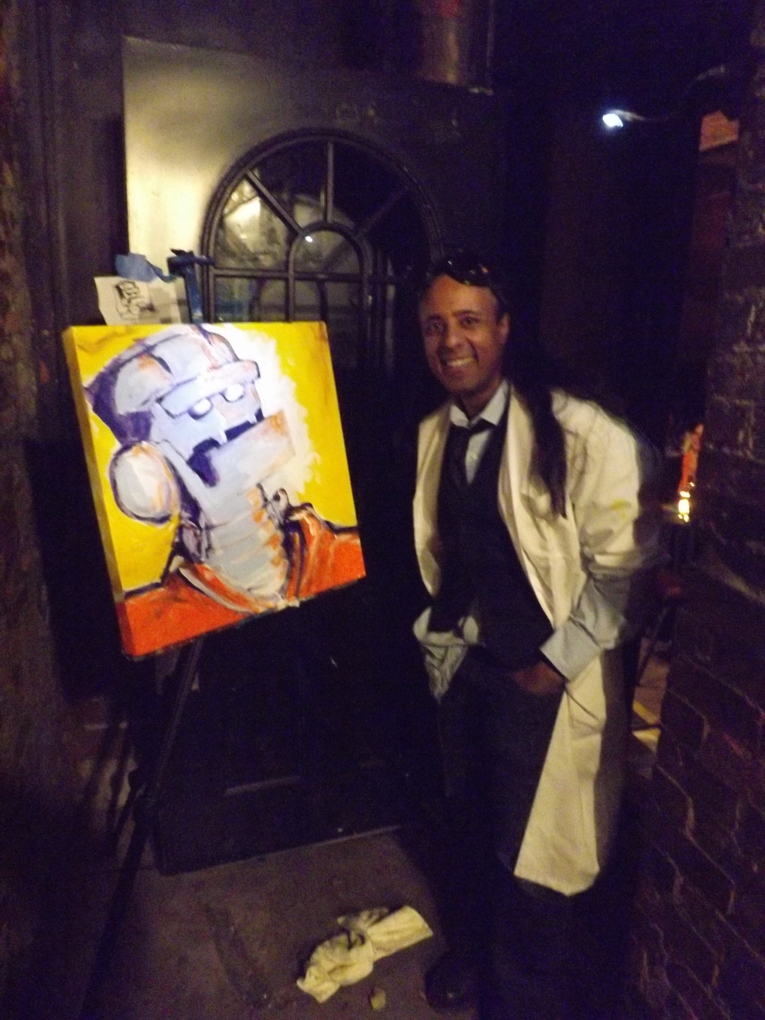 Halloween Live Painting for Storytellers @ Jimmys 43rd NYC