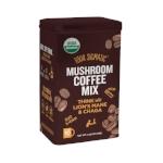 Four Sigmatic Medicinal Mushrooms. I love the mushroom coffee & I take Reishi, Cordyceps and Chaga daily.