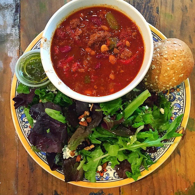 Souper Jenny   Soups, sides, salads, made with local and sometimes organic ingredients