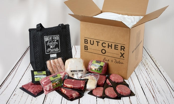 ButcherBox - organic, humanely raised meats delivered directly to your door!