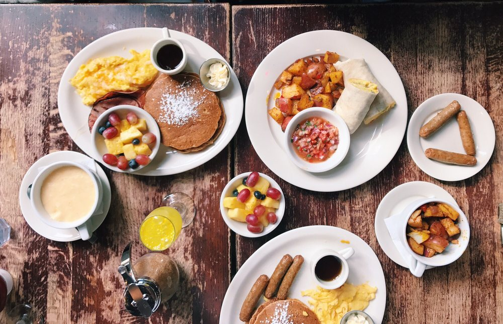 Busboys and Poets - organic breakfast