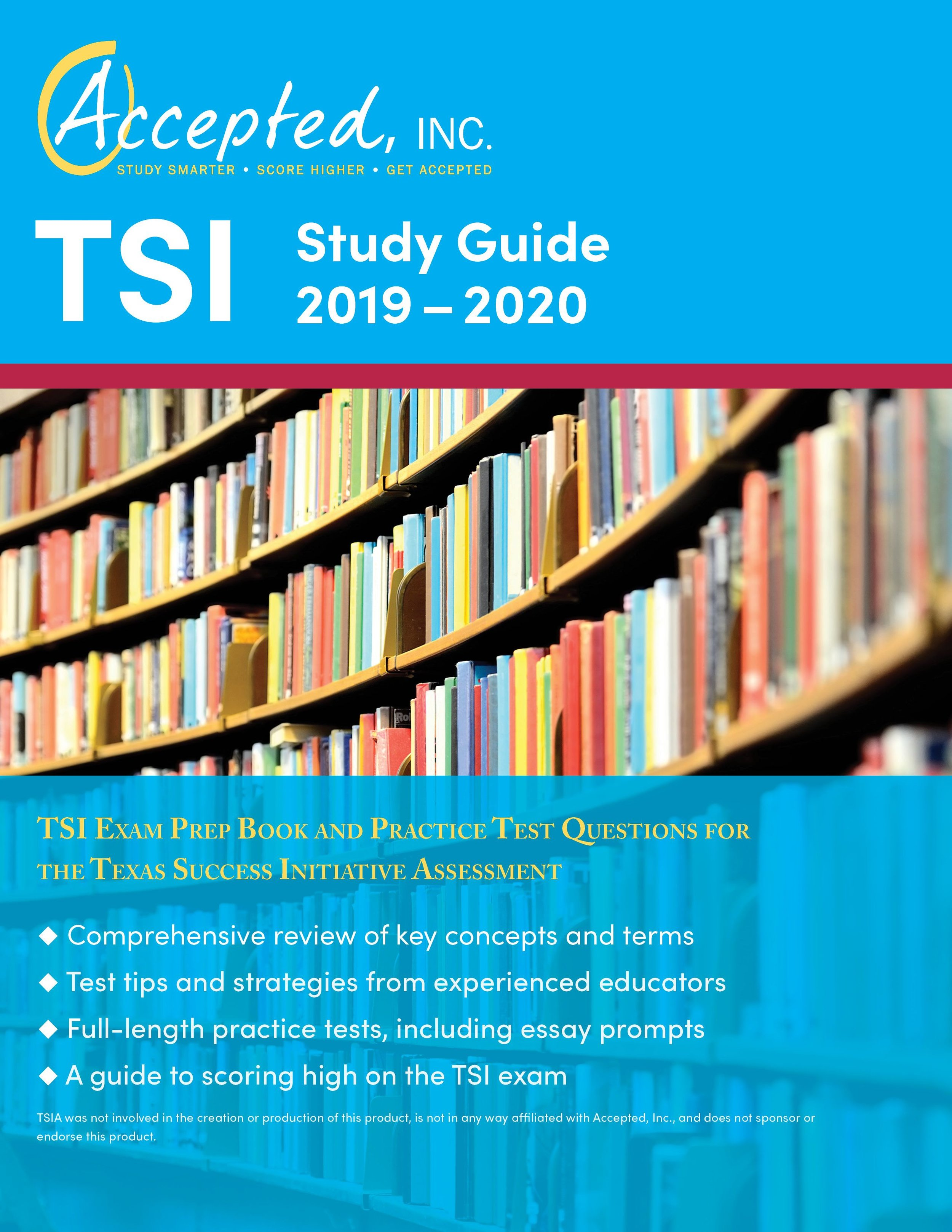 TSI Study Guide 2019 – 2020