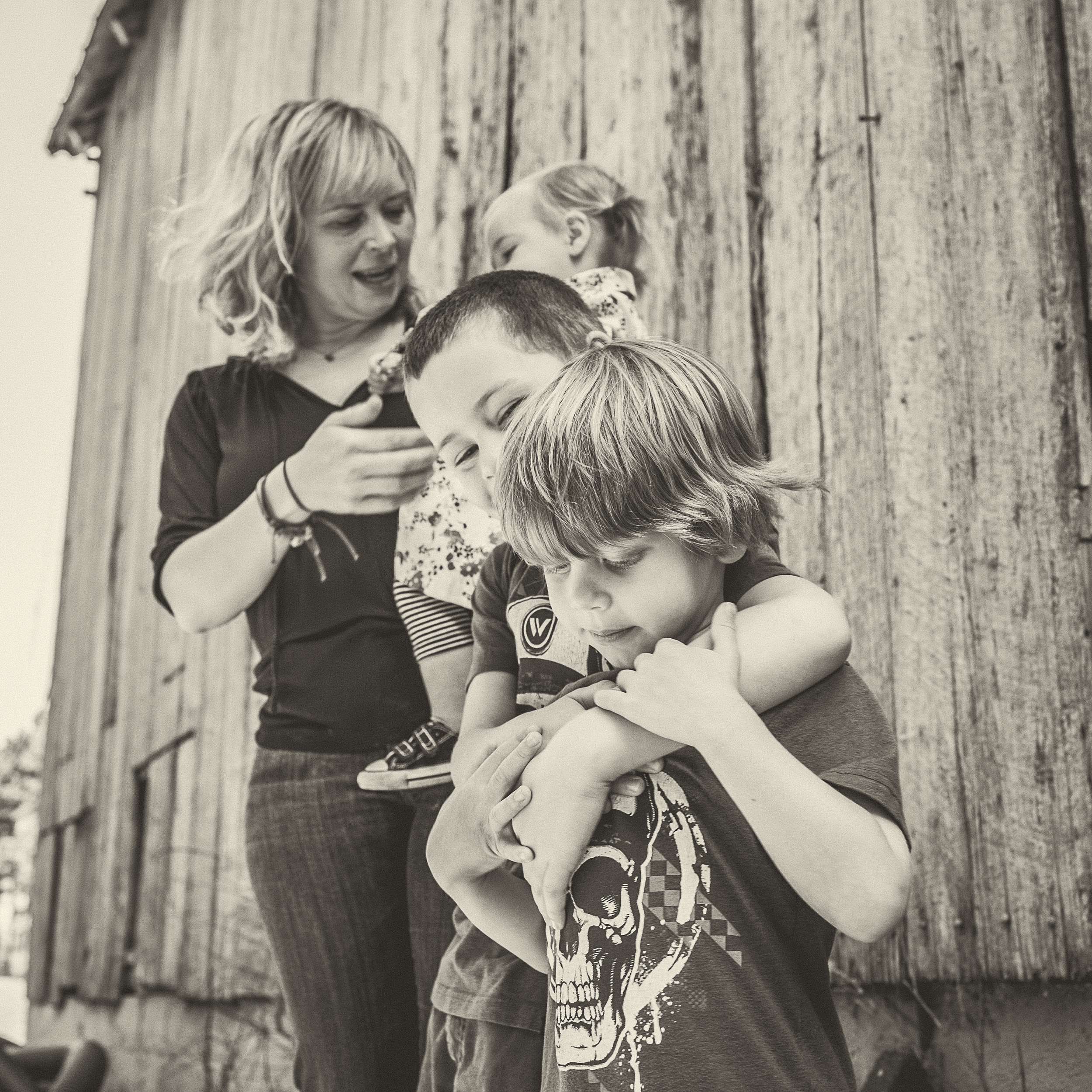 Lifestyle Family Photo  Session. April 2015. Crofton, MD.