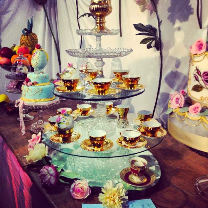 Vintage Tea Party- The Utterly Sexy Cafe