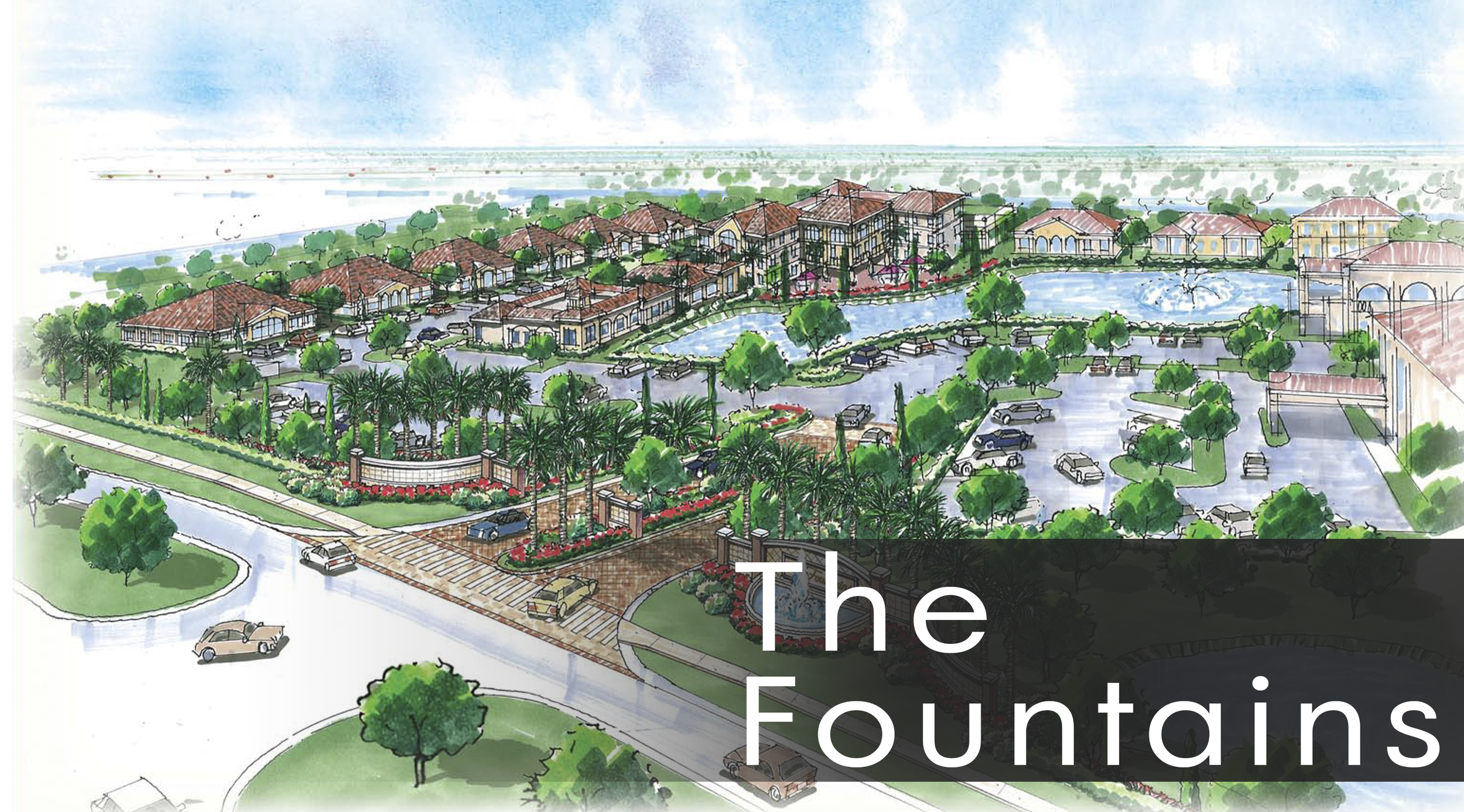 The Fountains at Travoli Place in Winter Garden 50 Acres For Sale & For Lease