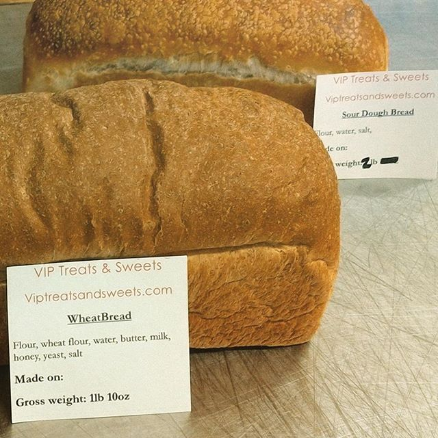 8 Ingredients is all it takes to make a delicious loaf of wheat bread... 3 to make a sour dough! #wheatbread #allnatural #8ingredients #3ingredients #homemade #viptreatandsweets  #bakedgoods #kauaifood #eatlocal #freahbakedgoods #simpleingredients #simple #fresh #eatgood