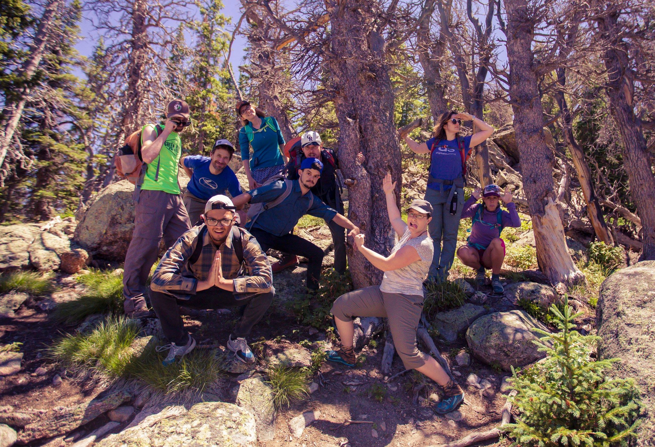 Sustain, National Forest Foundation, and The Burroughs having fun!