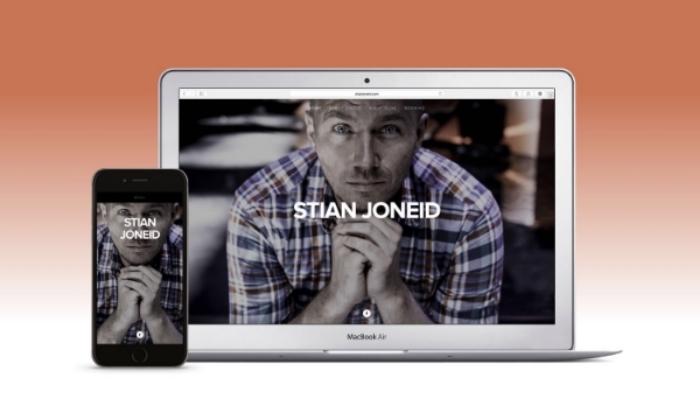New and responsive stianjoneid.com