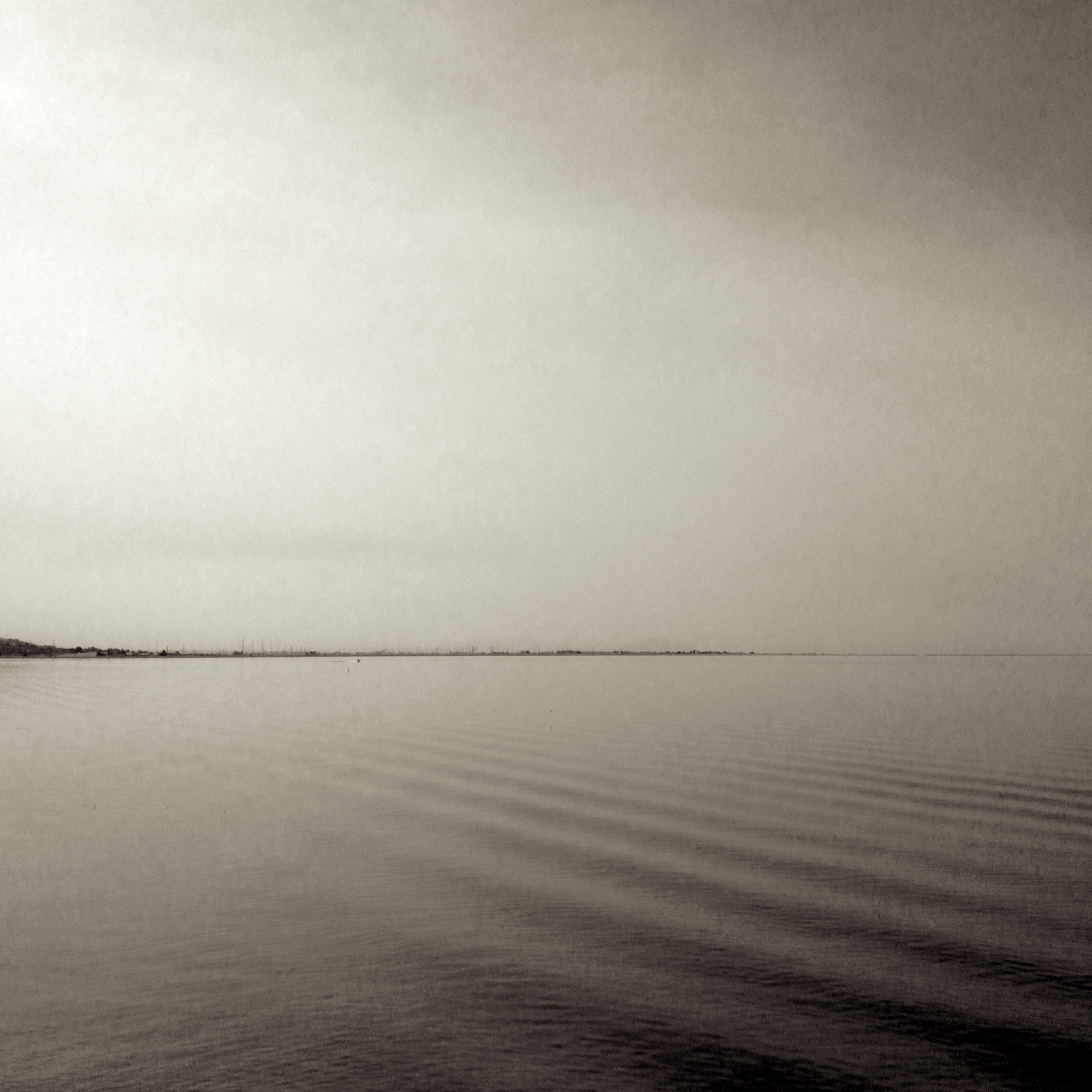 Adrift  Photograph on Washi paper, cotton rag paper, cold wax 22.5 x 22.5 $950