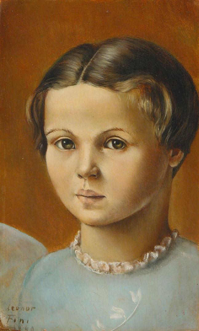 Leonor Fini Portrait of Mademoiselle Pichon Oil on wood 1940