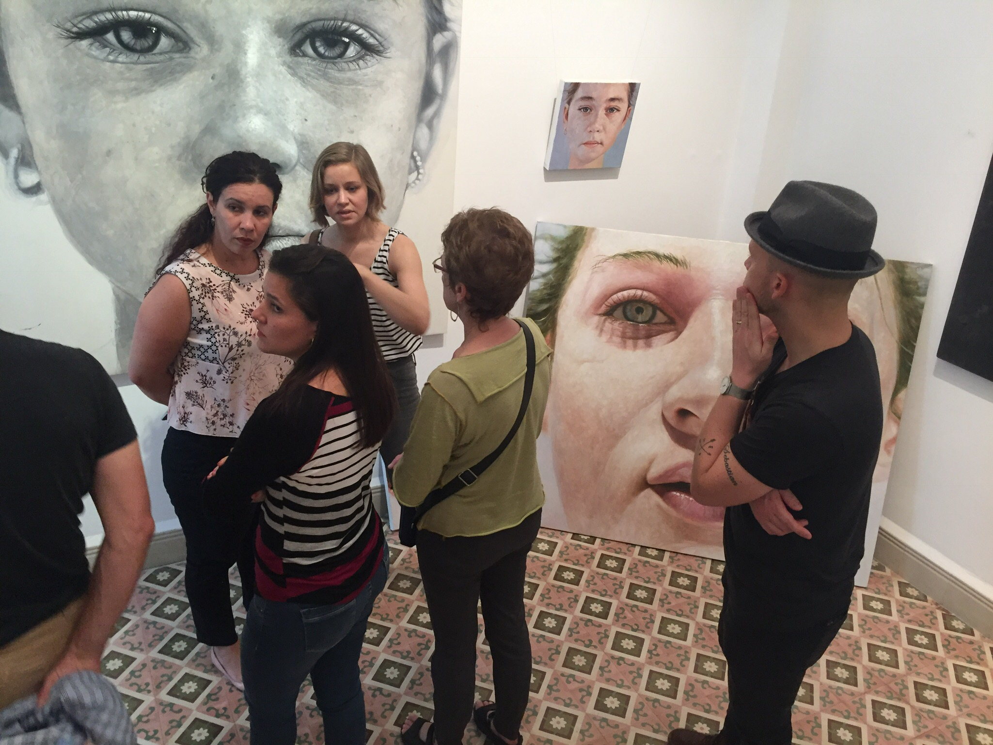 Estudio Arte Contemporaneo and discussion on Andy Llanes Bulto