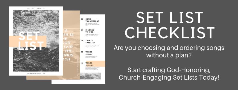 Setlist Checklit
