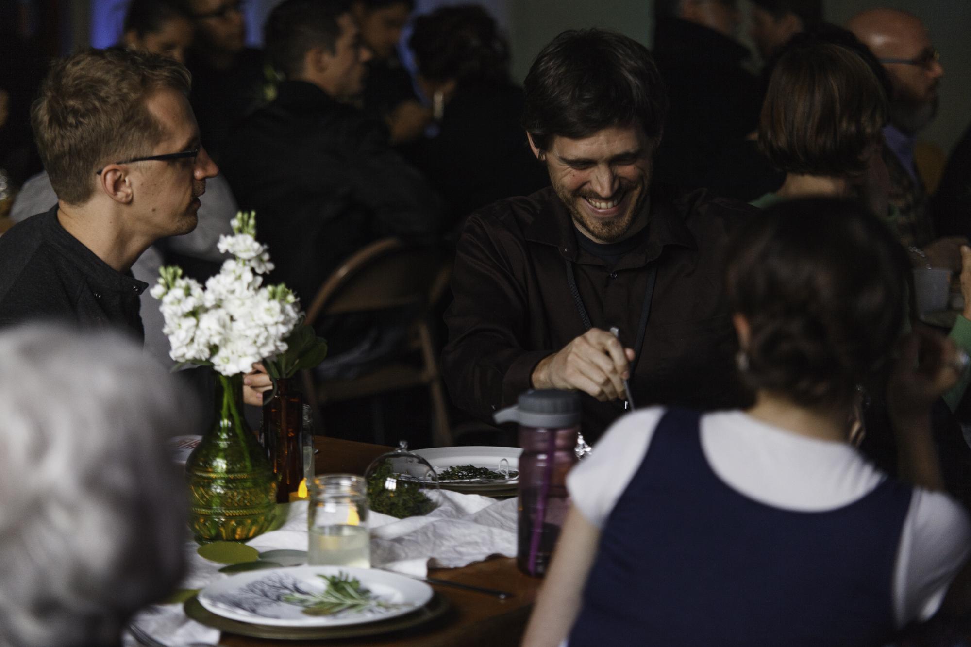 Photographs by Jonathan Stoner.takenat the Level Ground Festival's Family Dinner, 2015.