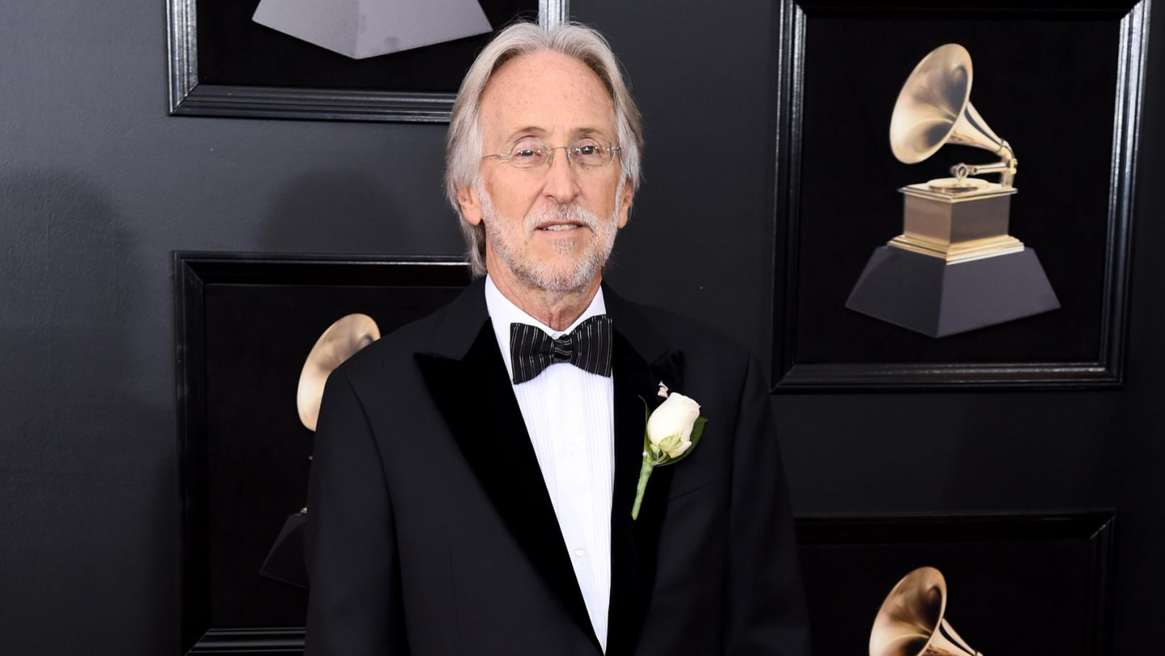 """Grammys president Neil Portnow was criticized for stating """"women need to step up"""" in the music industry after the 2018 Grammys faced a #GrammysSoMale backlash."""