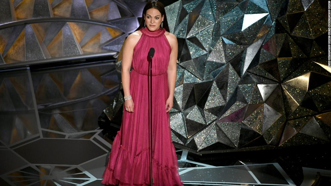Daniela Vega became the first openly transgender presenter at the Academy Awards during last night's telecast.