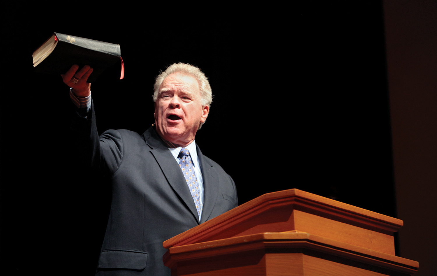 Audio from a 2000 interview with Paige Patterson, president of Southwestern Baptist Theological Seminary, resurfaced last week. In the interview, which has elicited a firestorm of criticism since its reappearance, Patterson urges women facing domestic violence and abuse to not seek divorce.  Photo: Paige Patterson.