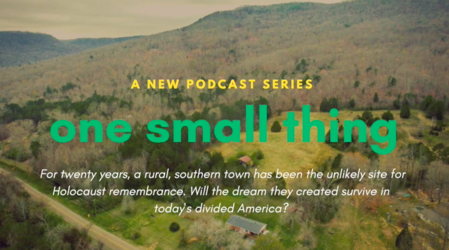 One Small Thing  is a forthcoming serial podcast exploring how one small thing can connect an unlikely group of people in totally unexpected ways.