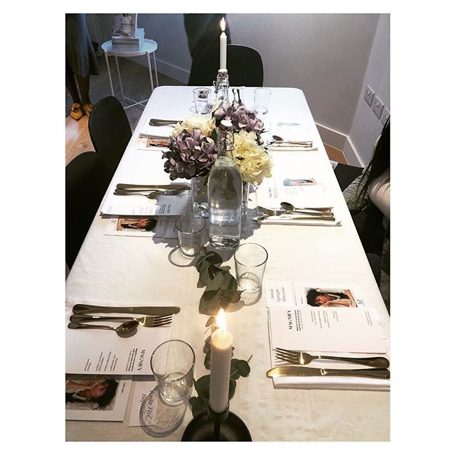 Simple but classy at the Magnify Round Table event last night.  @magnifycollective  #magnifyroundtable #london #events