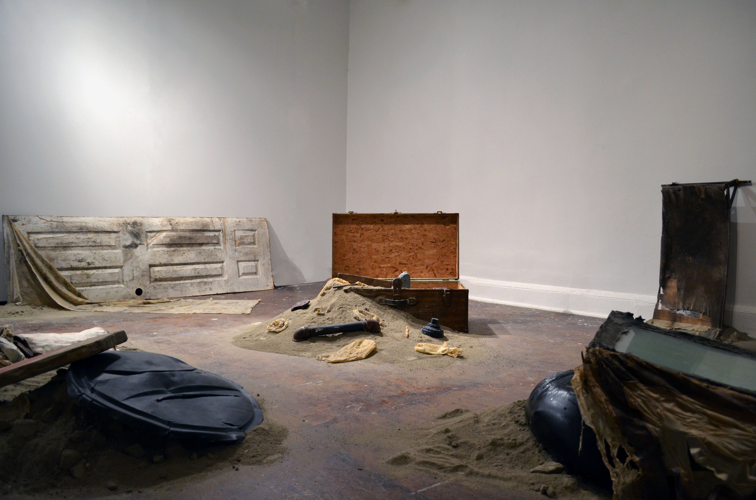 Installation View,   Disenchantments , 2015